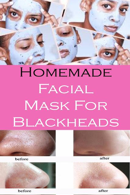 Homemade Facial Mask For Blackheads