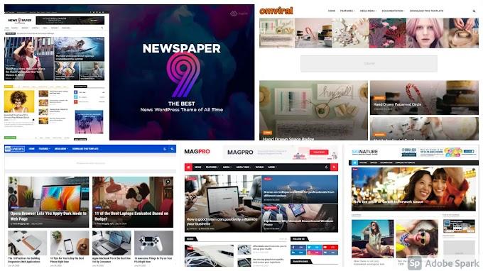 Best Top 5 Premium Responsive Professional Blogger Templates Free Download