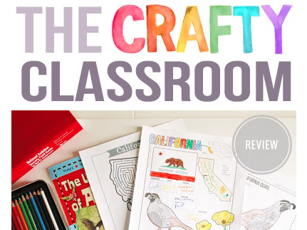 Learn about the States with the USA Activity Bundle from The Crafty Classroom | Review