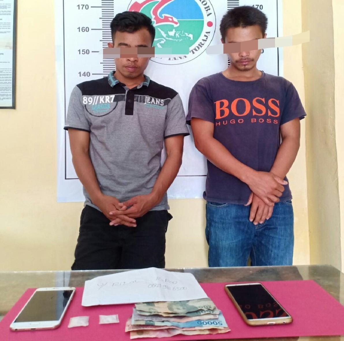 Polisi Temukan Narkotika yang Dikirim Lewat Bus Makassar-Toraja, Dua Pelaku Diciduk