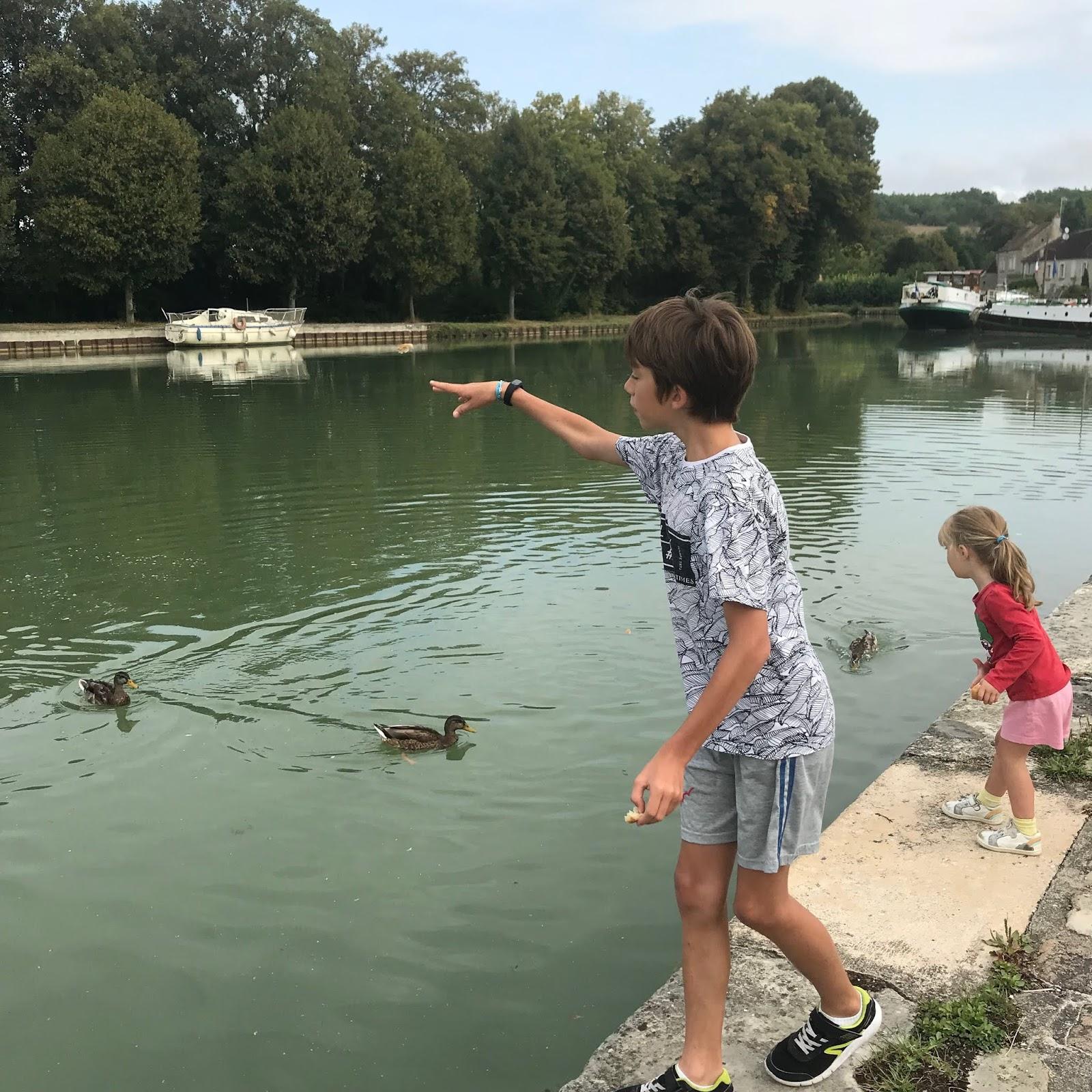 vacances sur l'eau