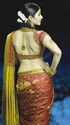 Jeyanthi Rajendran: Unique Saree Blouse Design