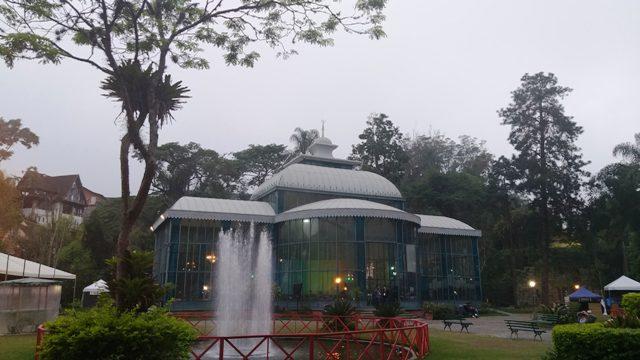 Palácio de Cristal em Petrópolis, região serrana do Rio de Janeiro