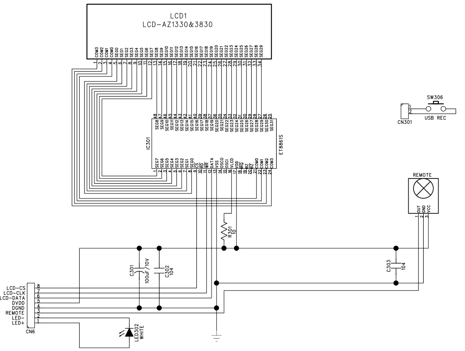 Manguonblog Thng Hai 2016 Electronic Circuit Diagram Tv Vertical Using La78041 La78040 Wma Memory Click On The Schematics To Zoom In