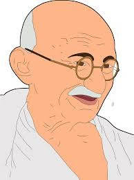 Gandhi Ji Vector Png Images, Clipart Photos of Gandhi Ji