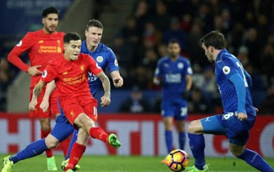 Link Live Streaming Liverpool vs Leicester City