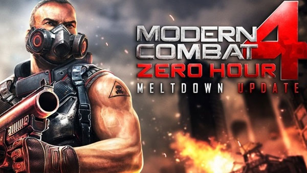 Modern Combat 4 Android   PrassEVO