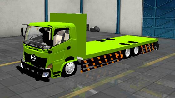 Mod Truck Hino 500 Flatbed Standar