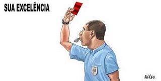 Marcelo de Lima Henrique apitando jogo do Invencível Mengão é igual ao Sérgio Cabral vigiando cofre público. Vai ter roubo.