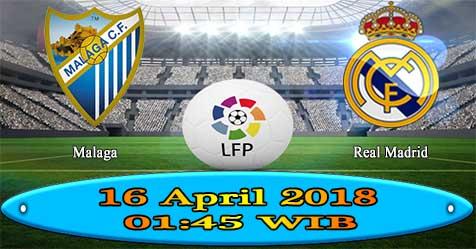 Prediksi Bola855 Malaga vs Real Madrid 16 April 2018