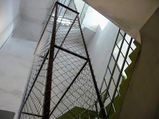 Дрогобич. Ратуша. Годинникова вежа. Відділення для гир-противаг