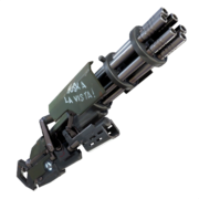 fortnite minigun