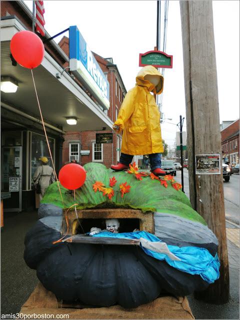 Festival de Calabazas de Damariscotta en Maine