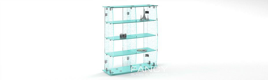 Commercial glass display
