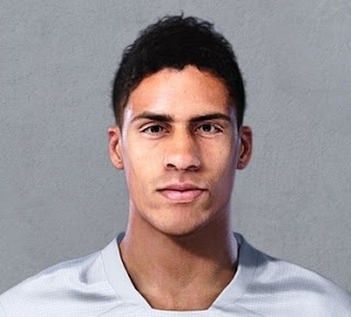 PES 2021 Faces Raphael Varane by Christian Jr