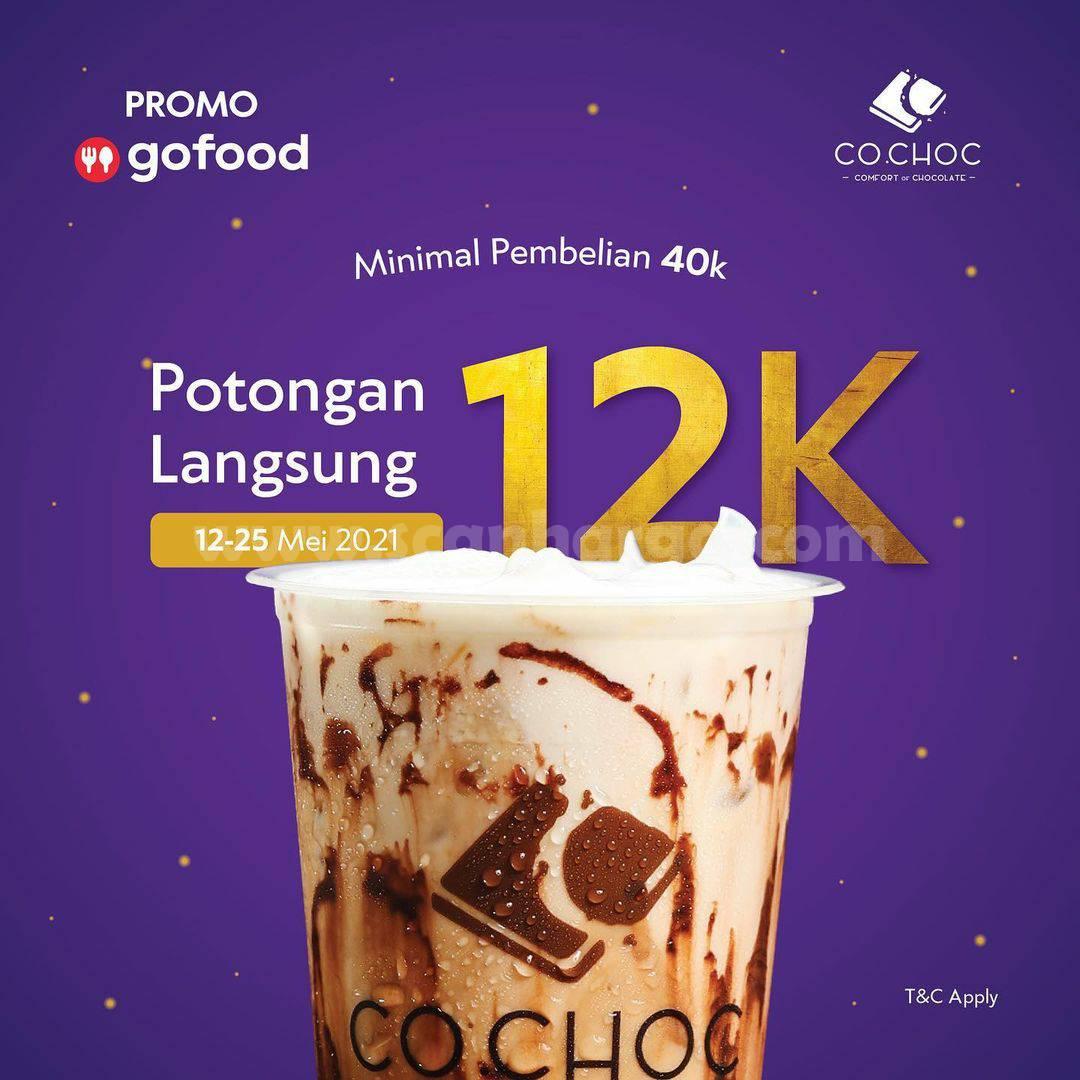 Promo Co.choc GOFOOD Spesial Diskon Rp. 12.000