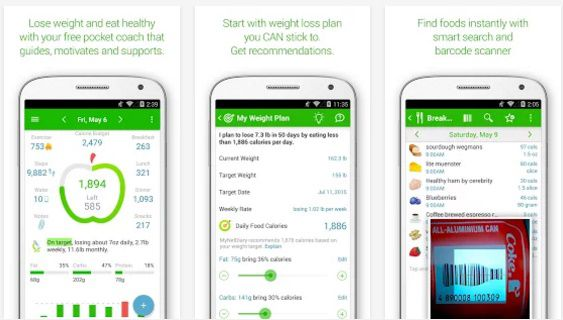 10 Aplikasi Penghitung Kalori Untuk Menurunkan Berat Badan di Android