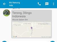 Cara Mengirimkan Lokasi Kita di BBM Android