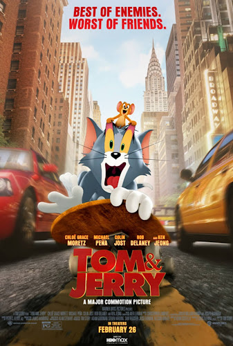 Tom and Jerry (Web-DL 720p Español Latino) (2021)