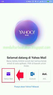 Yahoo Mail Daftar Baru