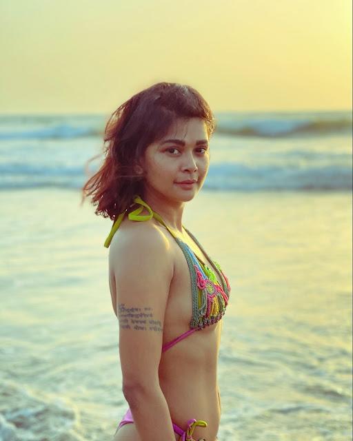 TV Actress Sakshi Pradhan Hot Bikini Photoshoot Stills Actress Trend