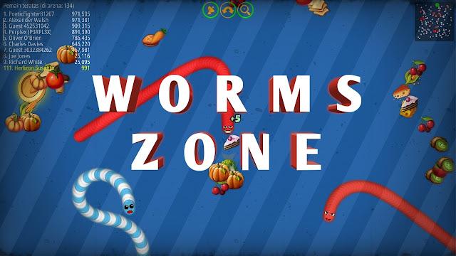 cara bermain dan apa misi sebenaranya dari game Worms Zone