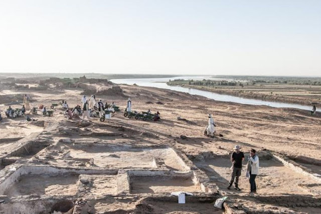 Layout of historic Nubian city revealed