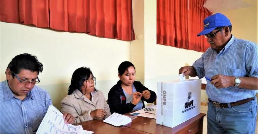 Convocan a elecciones en 18 distritos creados en el 2015 y 2016 (D. S. 044-2017-PCM)