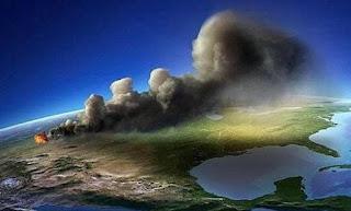 Supervolcán  Yellowstone podría extinguir a los humanos.