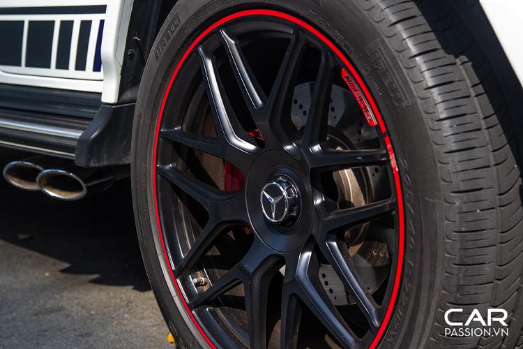 Mercedes-AMG G63 Edition 1 hơn 10 tỷ, màu độc ở Sài Gòn