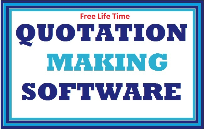 Quotation Making Software Free