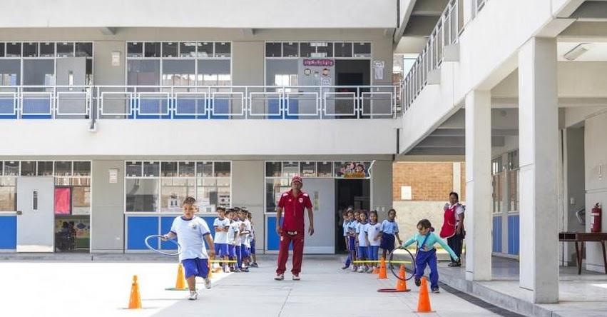 Directora Ejecutiva del PRONIED supervisó el estado de dos colegios culminados en Lima Norte - www.pronied.gob.pe