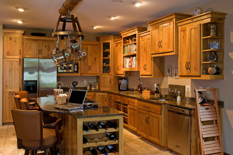 Muebles y decoraci n de interiores cocinas r sticas alemanas for Muebles rusticos para cocina