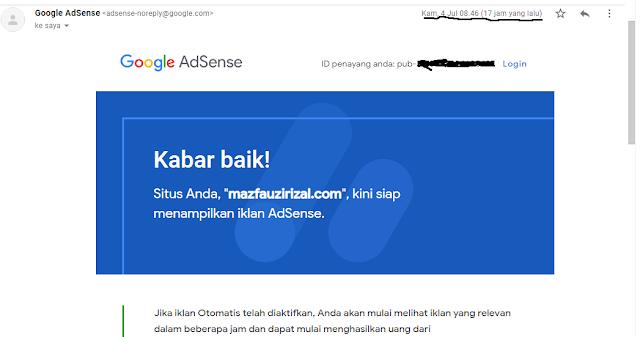 Tips Rahasia Daftar Google Adsense Agar Mudah Diterima 100%