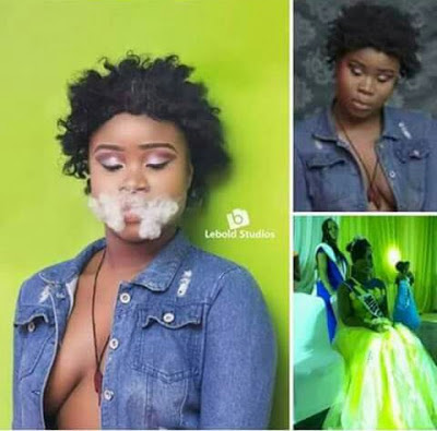 BREAKING: Miss Akwa Ibom Teen Queen Dethroned For Releasing Semi-Nude Photos