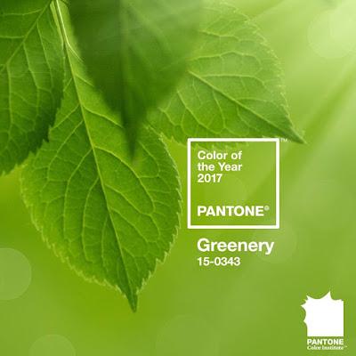 Greenery, colore Pantone 2017