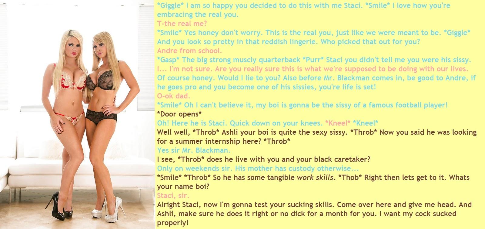 series captions Interracial