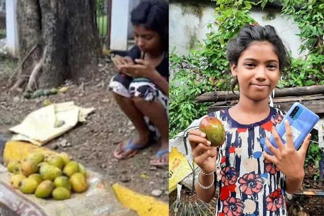 जमशेदपुर की इस लड़की ने 1.2 लाख रुपये में बेचे एक दर्जन आम, ऑनलाइन क्लास के लिए खरीदा स्मार्टफोन