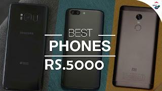 Best phone under 5000₹