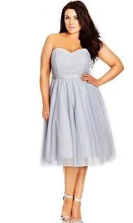 Strapless plunging neckline in patterned cocktail dresses