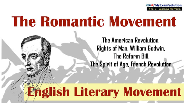 romantic movement, my exam solution,  english literature, ugc net jrf