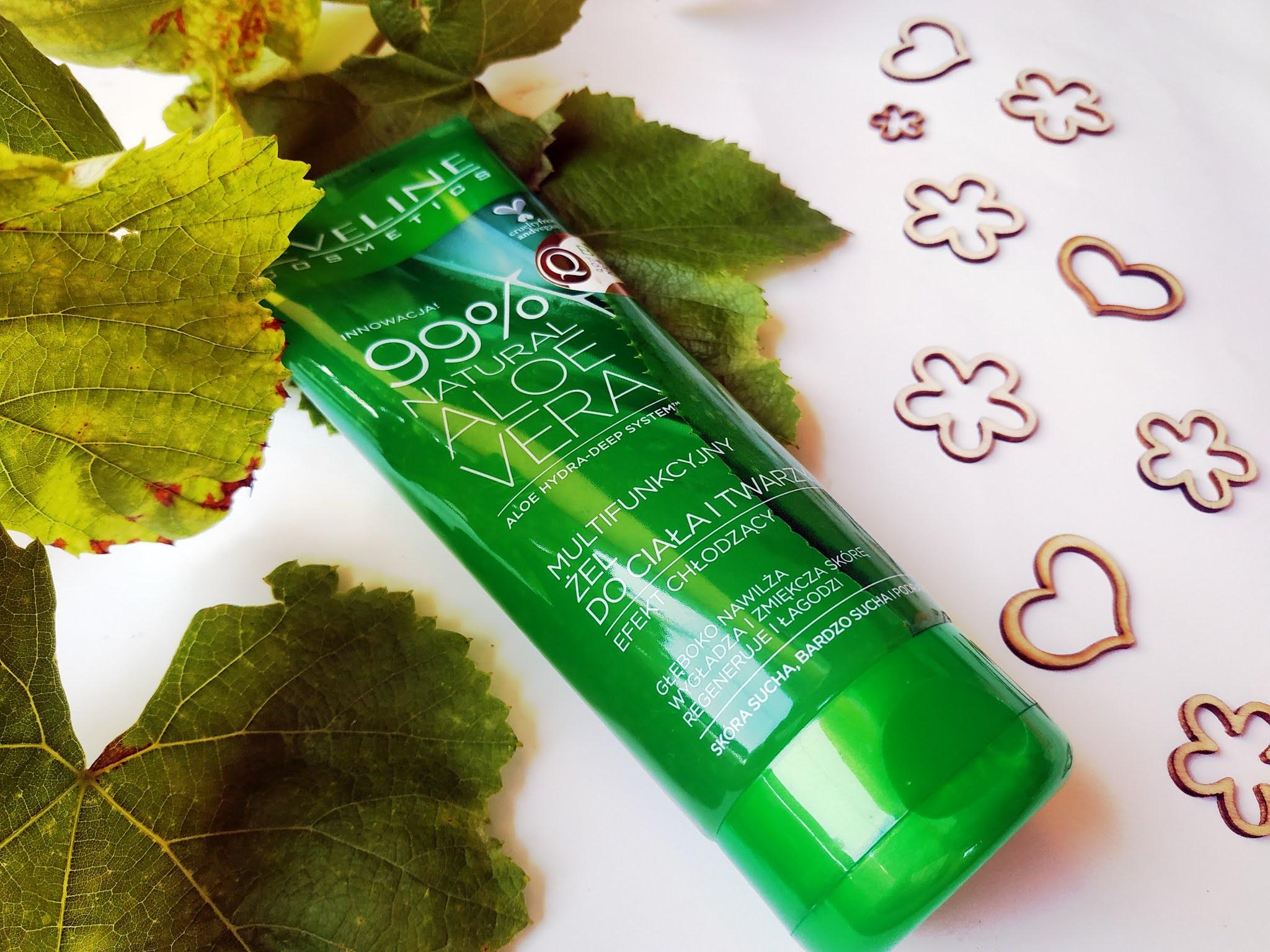 Eveline Natural Aloe Vera multifunkcyjny żel aloesowy od Eveline opinia