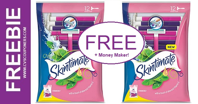 FREE Schick Disposable Razors at CVS 10-11-10-17