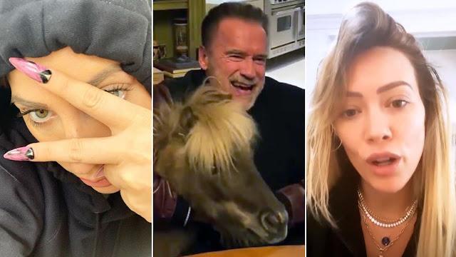 نجوم هوليوود يكشفون كيف يقضون أوقاتهم أثناء إقامتهم في المنزل بسبب كورونا