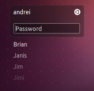 ubuntu 12.04 unity greeter dialog