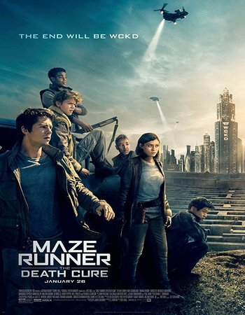 Maze Runner The Death Cure (2018) 480p HC HDRip