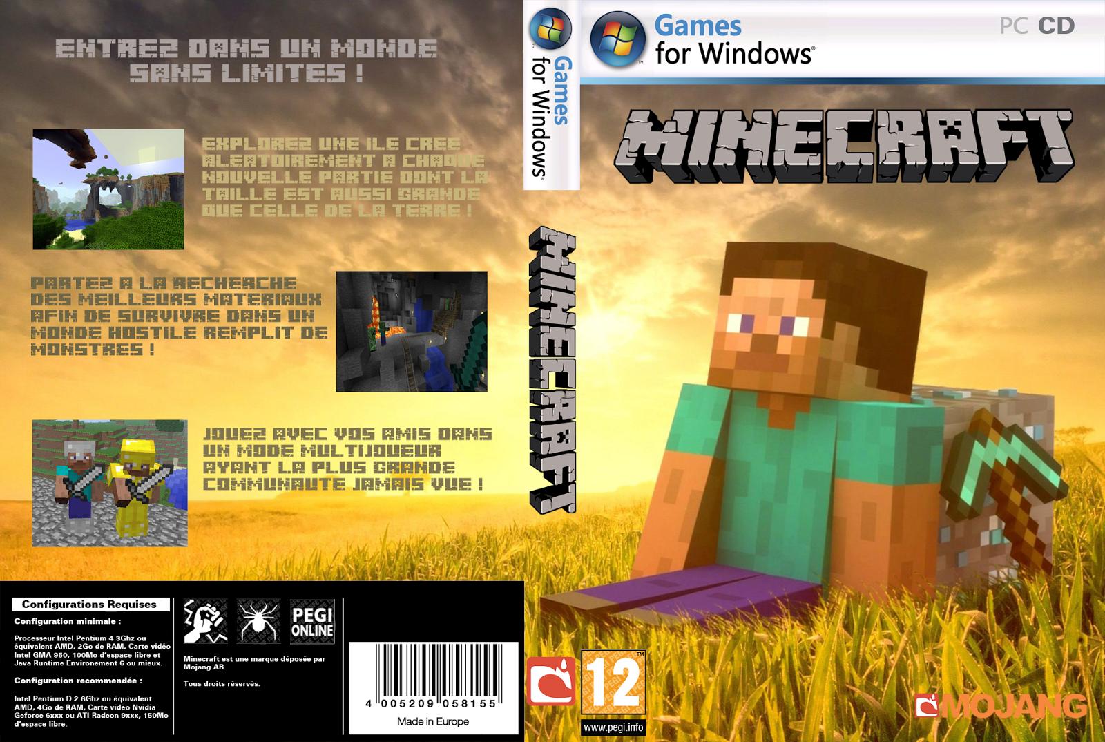 Download - Minecraft - PC [Torrent]  GamesDonwload