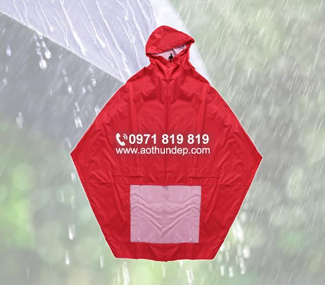 In áo mưa số lượng lớn, chất lượng đảm bảo