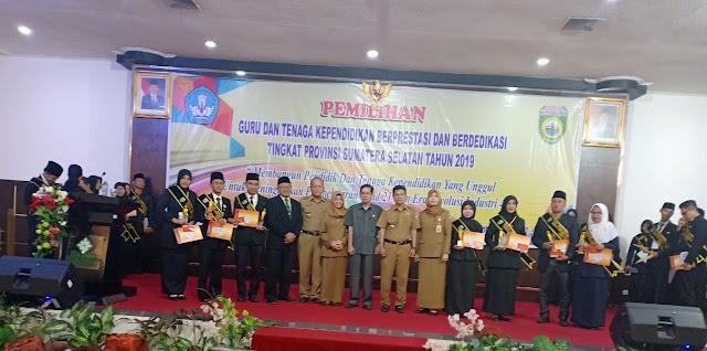 Guru dan Kepsek di Muba Borong Prestasi Tingkat Provinsi