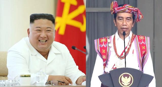 HUT Indonesia, Diktator Korea Utara Beri Ucapan Selamat Ke Jokowi